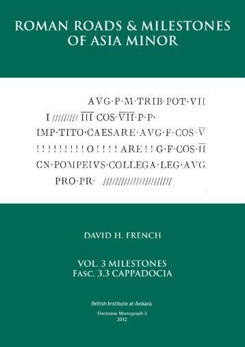 3.3 Cappadocia (for pdf) (08.x - British Institute at Ankara