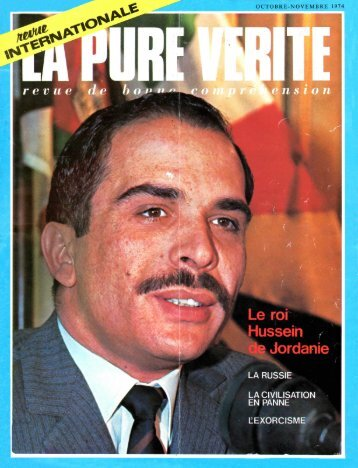 Pure Verite 1974 (No 09) Oct-Nov - Herbert W. Armstrong Library ...