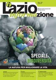 Focus - Agricoltura - Regione Lazio