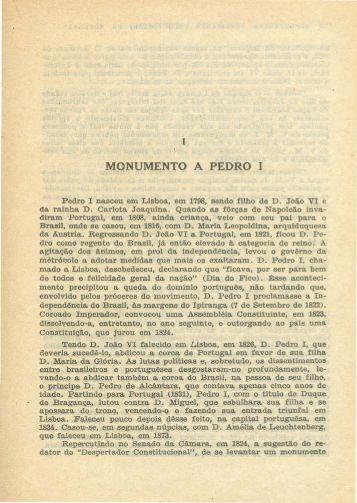 Monumento a Pedro I, por Diário de Notícias.