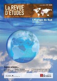 Revue-d-Etudes-janvi.. - Cours Supérieur Interarmées de Défense