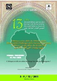 L'Afrique a-t-elle un cahier de charge face aux pays émergents