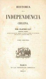INDEPENDENCIA - Memoria Chilena