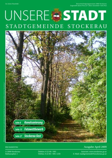 UNSERE STADT - Stockerau