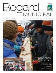 Avril 2012 - Municipalité de Saint-Bernard