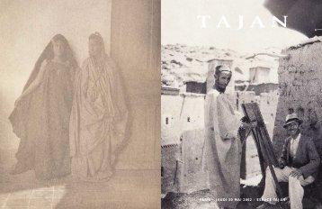 """photographies """"carnets de voyages de jacques majorelle"""" - Tajan"""