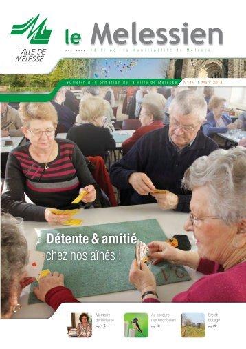 Melessien n° 16 - mars 2013 (pdf - 4,37 Mo) - Site officiel de la ville ...