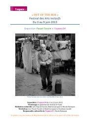 Une exposition de Pascal Tassini - Cap Loisirs