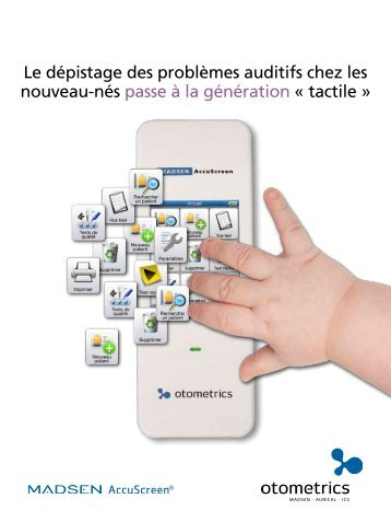 Audiomètre de dépistage néonatal - achats-publics.fr
