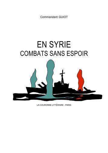 EN SYRIE - philippe.tailliez.net