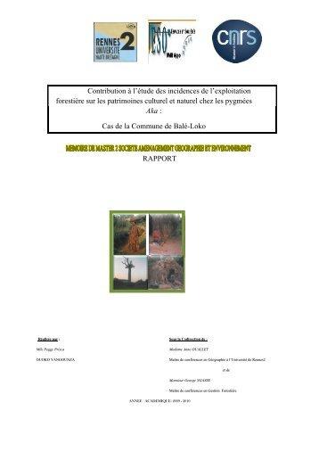 cas decommune de b - Unesco