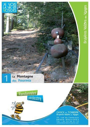 1 - montagne des fourmis.indd - Office de Tourisme de Bruyères