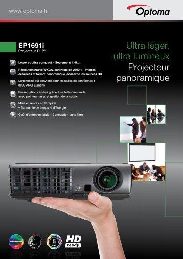Ultra léger, ultra lumineux Projecteur panoramique - Cbi Technologies
