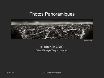 Photos Panoramiques - Objectif Image Trégor