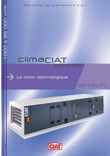 Les centrales de traitement d'air Airtech ont été conçues - Ciat