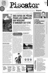 N°16 : Juin 2012 - Fédération de pêche de l'Aveyron