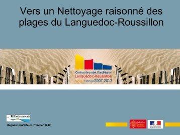 03 Nettoyage manuel des plages - Littoral Languedoc Roussillon