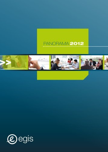 Panorama Projets 2012 - Egis International