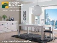 collection ARDOISE - Meubles Bois Massif, boutique en ligne
