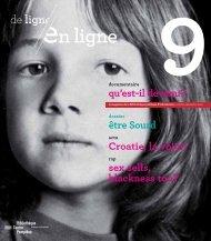 De ligne en ligne n° 9 - Bibliothèque publique d'information