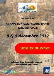 DOSSIER PRESSE 2012 mail - Salon des santonniers de Caderousse