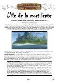 L'île de la mort lente - Strikeforce et Donjons et Dragons - Page 2