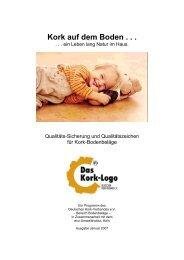 Kork-Logo - Schöner leben. Mit Kork.