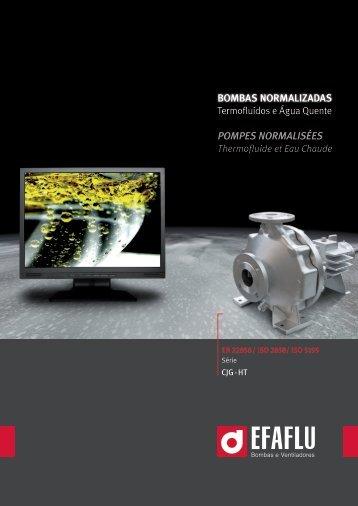 BOMBAS NORMALIZADAS POMPES NORMALISÉES - Efaflu