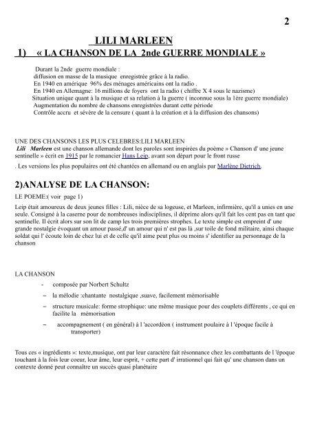 Lili Marleen Chanson Emblématique Du La 2nde Guerre Mondiale