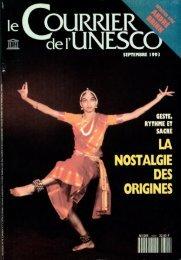 Geste, rythme et sacré: la nostalgie des origines ... - unesdoc - Unesco