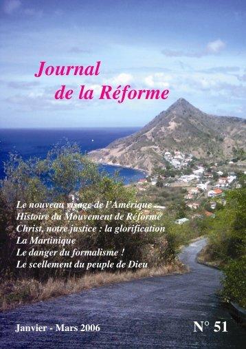 Le danger du formalisme - Journal de la Réforme - Free