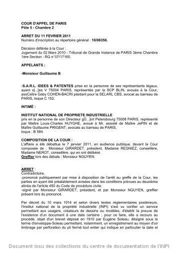 Cour D Appel De Paris Chambre Sociale Cour DAppel De Paris Chambres