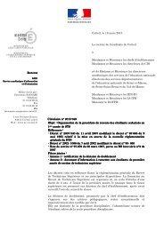 Circulaire rectorale n°2013-049 - Académie de Créteil