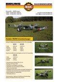 Variabler BRUNS Schneidwerkwagen MASCHINENFABRIK - Page 3