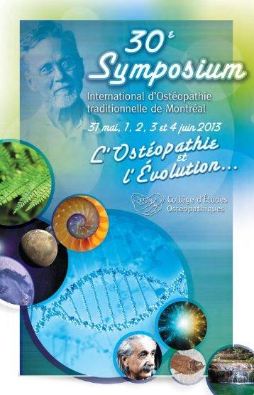 Brochure Symposium 2013 Cliquez-ici pour télécharger la brochure ...