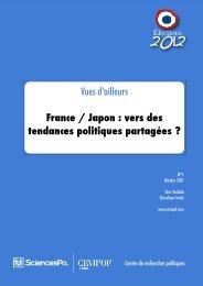 France / Japon - Cevipof