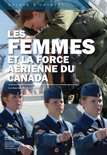 Les femmes et la Force aérienne du Canada