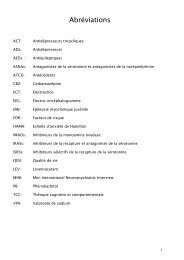 Abréviations - Faculté de Médecine et de Pharmacie de Fès