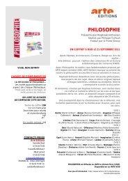 en coffret 6 dvd le 21 septembre 2011 - Arte