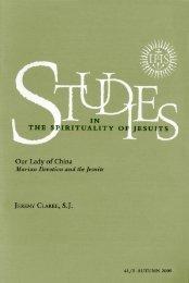41/3 — Autumn 2009 - Jesuits