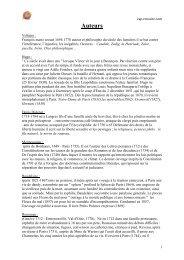 Auteurs - Cours particuliers et soutien scolaire Cap Réussite Briançon