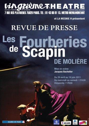 REVUE DE PRESSE - Vincent Serreau