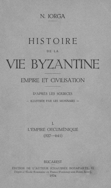 VIE BYZANTINE - upload.wikimedia....