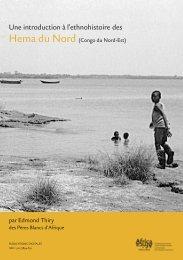 Une introduction à l'ethnohistoire des Hema du - Royal Museum for ...