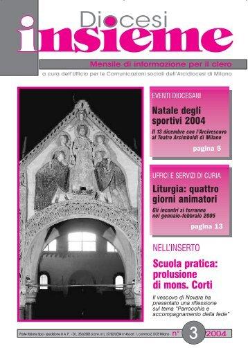 numero 3 - Chiesa di Milano