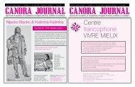 Mai - Juin - Journal Canora