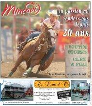 la passion au rendez-vous depuis 20 ans - Intranet - Minçavi