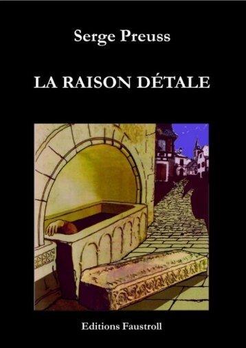 La Raison détale - Editions Faustroll