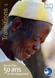 Consulter le numéro de juin 2012 - Iles de Paix