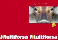 Catalogue de produits 2013 - Multiforsa AG, Steinhausen